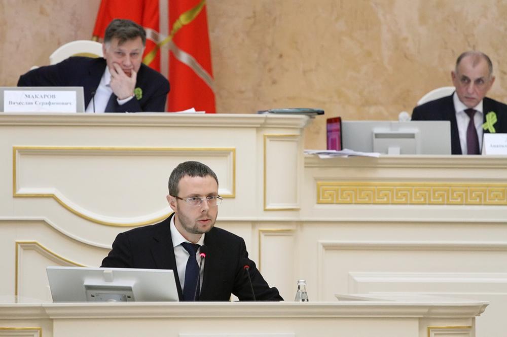 фото ЗакС политика Шаскольский перестал быть вице-губернатором