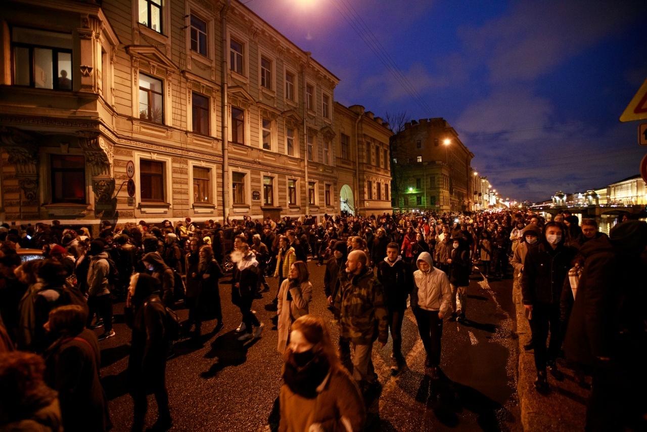 Бастрыкин: В Петербурге протестуют безработные и агрессивно настроенные неудавшиеся бизнесмены
