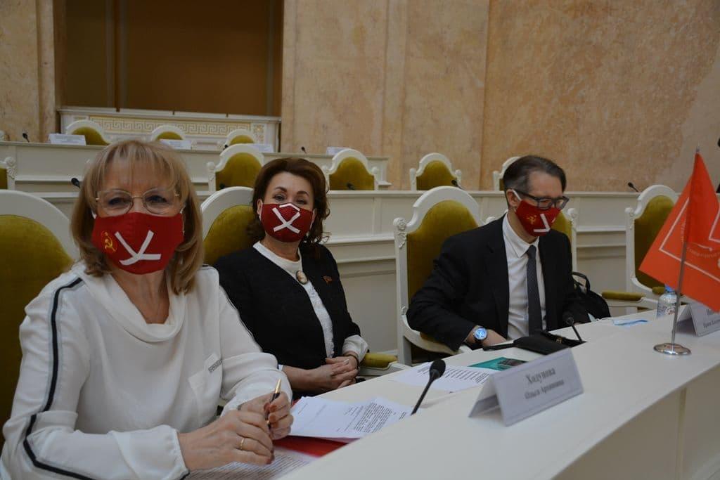 фото ЗакС политика Оппозиционеры продемонстрировали несогласие с ужесточением регламента ЗакСа Петербурга