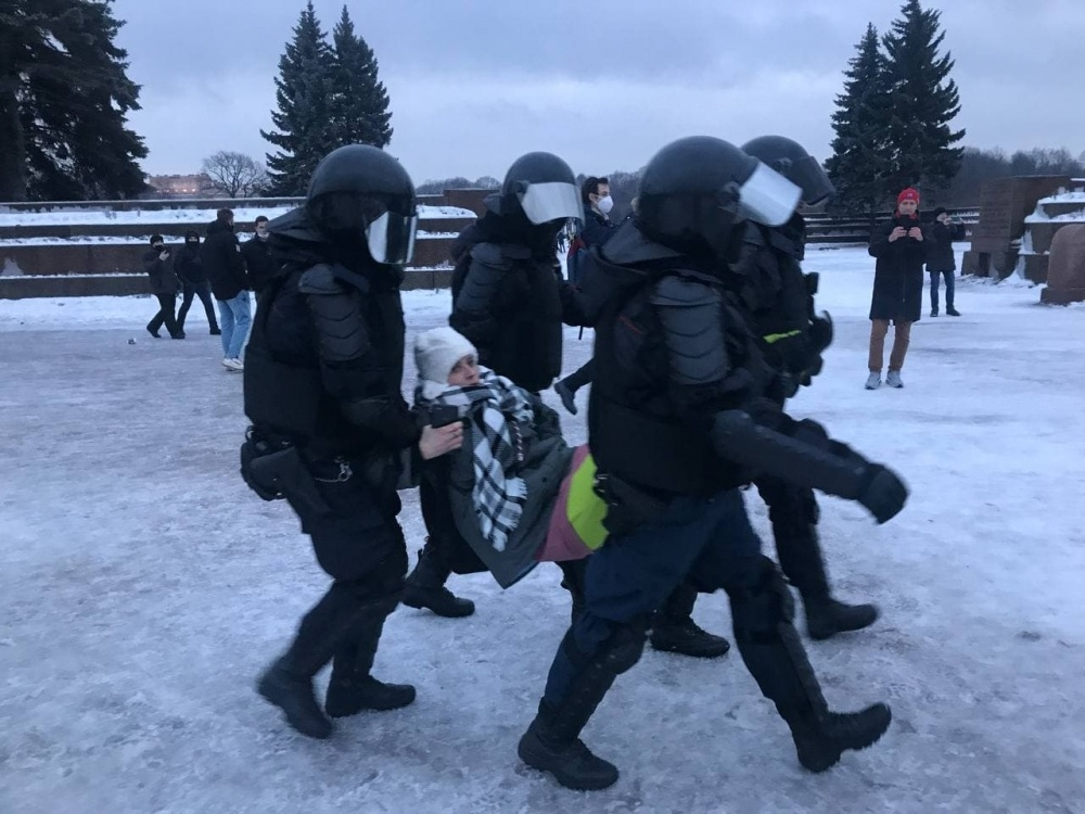 Глава СПЧ о жестких задержаниях на митингах в поддержку Навального: Абсолютно не вижу нарушения