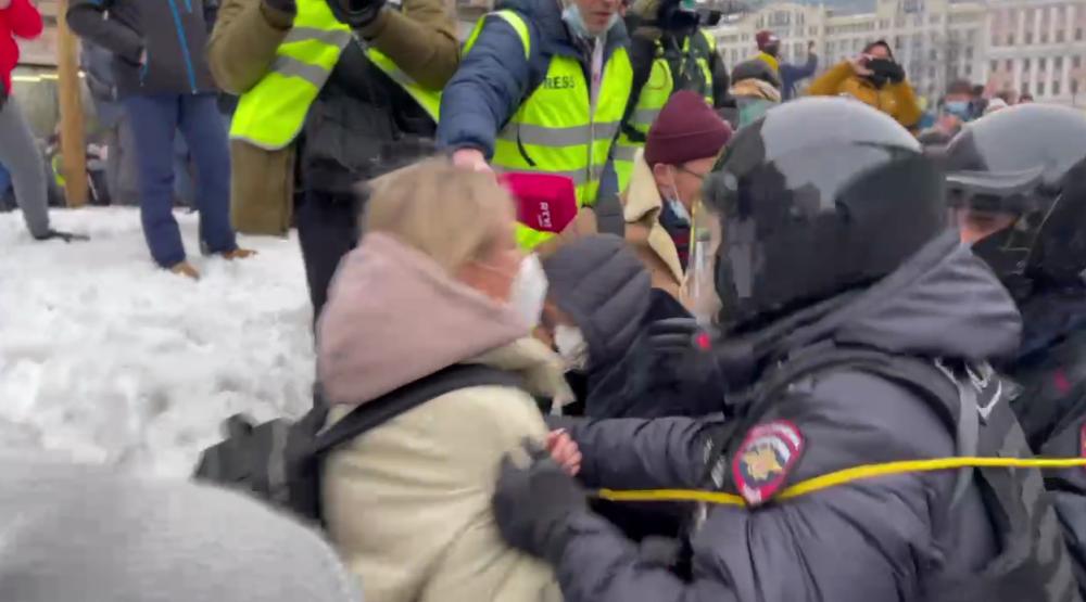 фото ЗакС политика В Москве задержали Любовь Соболь