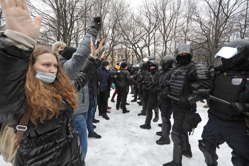 фото ЗакС политика В Москве задержан первый участник дела о применении насилия к силовикам на акции 23 января
