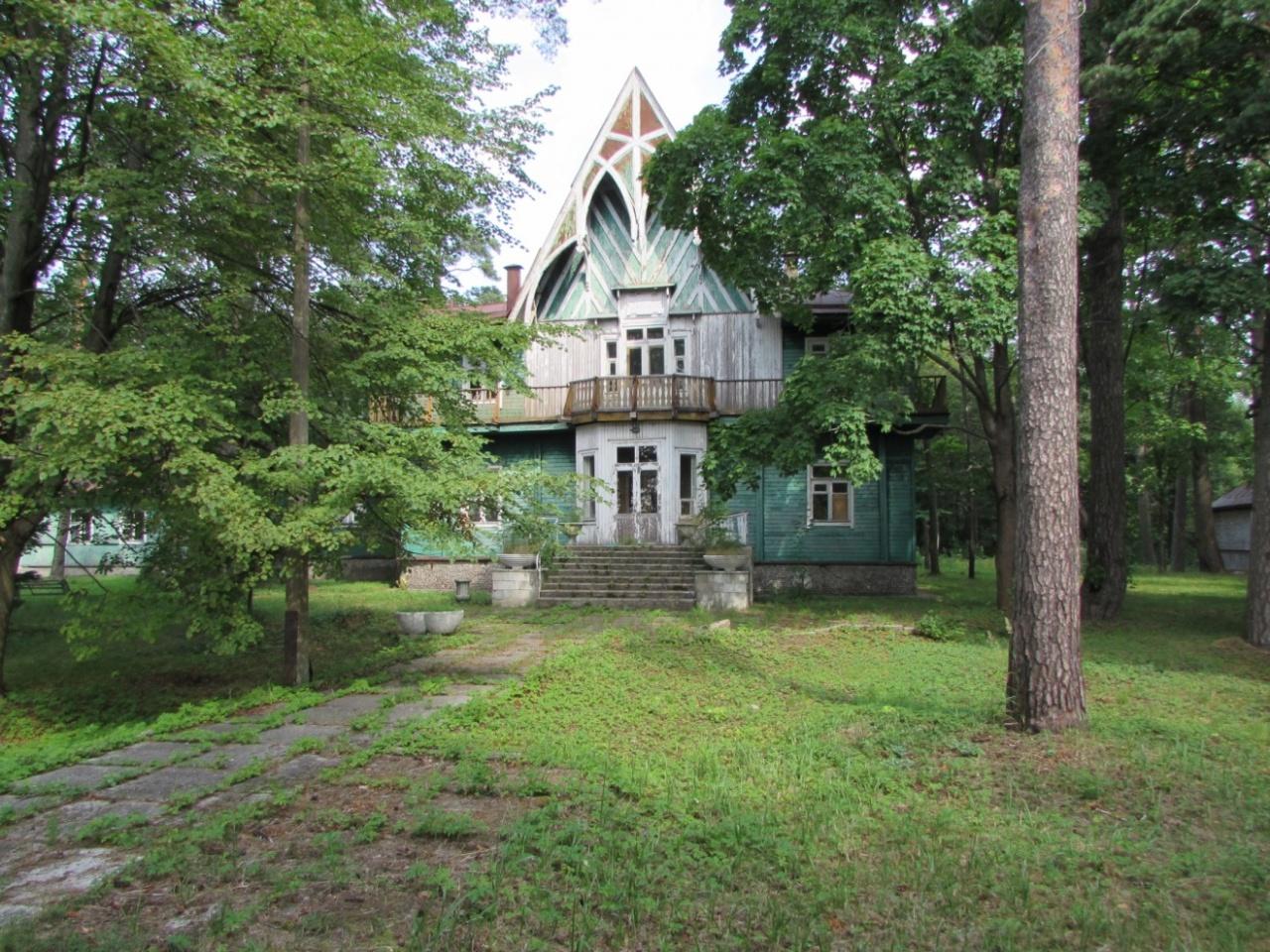 Дачу Кинга и дом купца Елисеева в Зеленогорске превратят в туристический комплекс