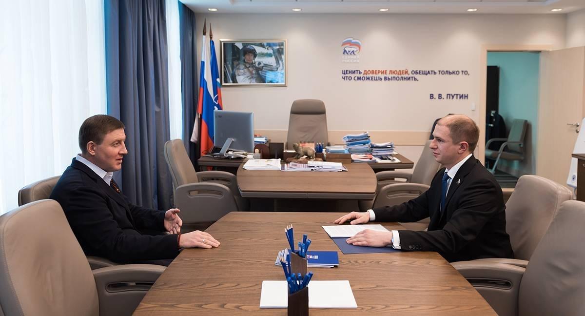Турчак предложил Романову сменить думский округ