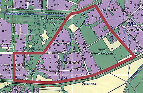 Санкт-Петербурга районов