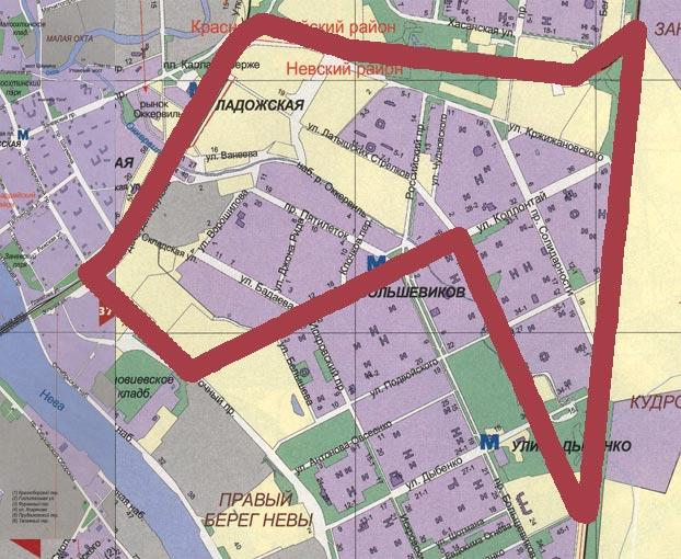 Граница избирательного округа